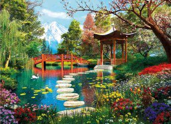 Puzzle Paesaggi 1000 pezzi Clementoni Fuji Garden