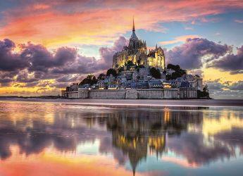 Puzzle Paesaggi 1000 pezzi Clementoni Le Magnifique Mont Saint-Michel