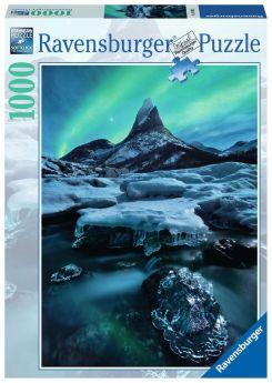 Puzzle 1000 pezzi Ravensburger Stetind, Norvegia del Nord | Puzzle Paesaggi - Confezione