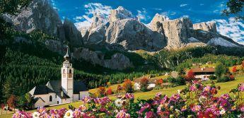 Puzzle Paesaggi 13200 pezzi Clementoni Sellagruppe Dolomiti