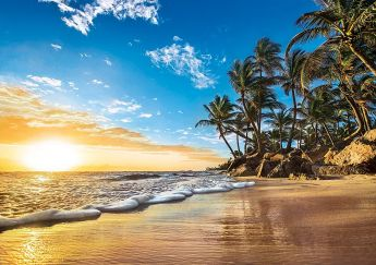 Puzzle Paesaggi 1500 pezzi Clementoni Tropical Sunrise