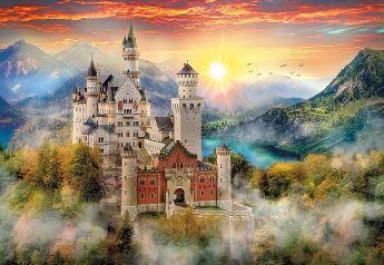 Neuschwanstein (Puzzle 2000 pezzi Clementoni)