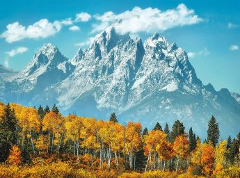 Puzzle 500 pezzi Grand Teton in Fall Clementoni su ARSLUDICA.com