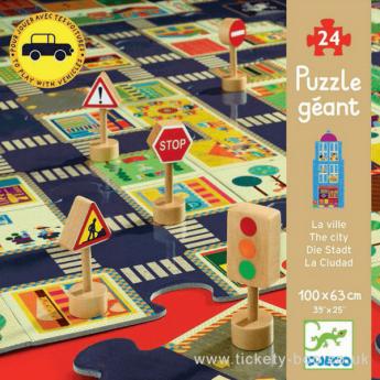 Puzzle The City 24 pezzi (Puzzle Djeco)