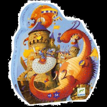 PUZZLE VAILLANT AND THE DRAGON | Puzzle Djeco