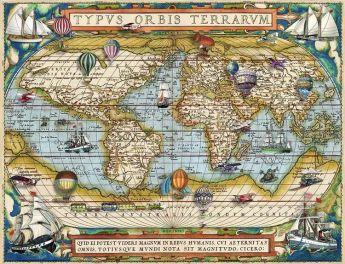 Puzzle 2000 Pezzi Ravensburger Intorno Al Mondo | Puzzle Arte