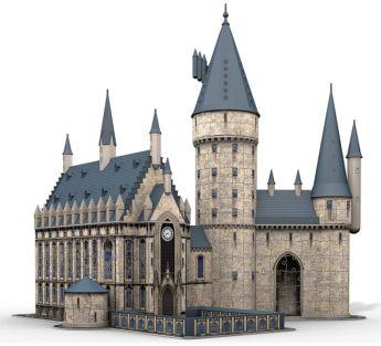 Puzzle 3D 600 Pezzi Ravensburger Castello di Hogwarts   Puzzle Personaggi