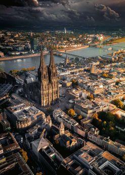 Puzzle 1000 Ravensburger Pezzi Cattedrale di Colonia| Puzzle Città