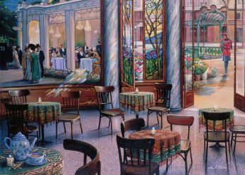 Puzzle 1000 Pezzi Ravensburger Pausa Caffè | Puzzle Arte