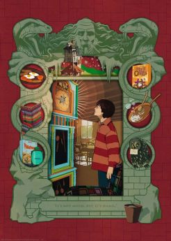 Puzzle 1000 Pezzi Ravensburger Harry Potter D Book Edition | Puzzle Personaggi