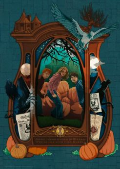 Puzzle 1000 Pezzi Ravensburger Harry Potter A Book Edition | Puzzle Personaggi