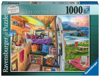 Puzzle 1000 Pezzi Ravensburger Country Kitchen | Puzzle Cucina