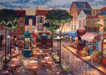 Puzzle 1000 Pezzi Ravensburger Pennellate di Parigi | Puzzle Fantasy