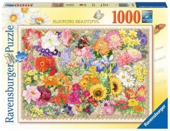 Puzzle 1000 Pezzi Ravensburger La Bella Fioritura   Puzzle Fiori - Confezione