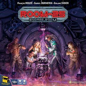 Room 25 - Escape Room Gioco da Tavolo