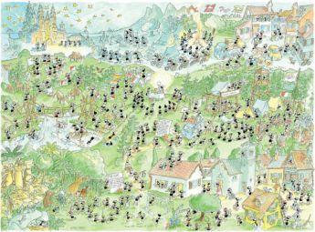 Scouts (Puzzle 1080 Pezzi Formiche) (Puzzle)