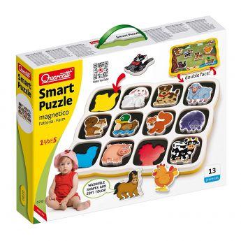 Smart Puzzle Fattoria (Gioco Quercetti)