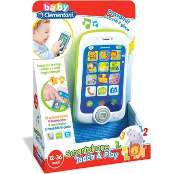 Smartphone Touch & Play (Gioco Clementoni Baby)