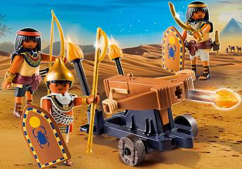 Soldati Egizi con Lanciadardi Playmobil History 5388
