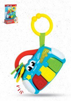 Sonaglino Elettronico Piano (Prima Infanzia Baby Clementoni) su ARSLUDICA.com
