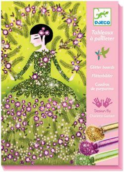 Tavole Glitter Dresses DJECO su ARSLUDICA.com