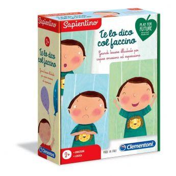 Te Lo Dico Col Faccino - Sapientino (Gioco Educativo Clementoni) su ARSLUDICA.com