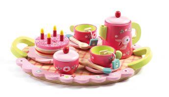 Tea Party in Legno Lili Rose's DJECO su ARSLUDICA.com