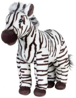 Zebra 28 cm (Peluche National Geographic)