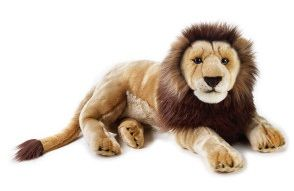 Leone 65 cm (Peluche National Geographic)