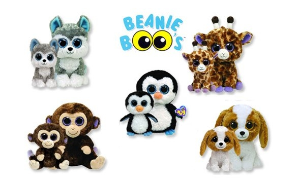 Peluce Ty Beanie Boo's gli animaletti con i dolci occhioni