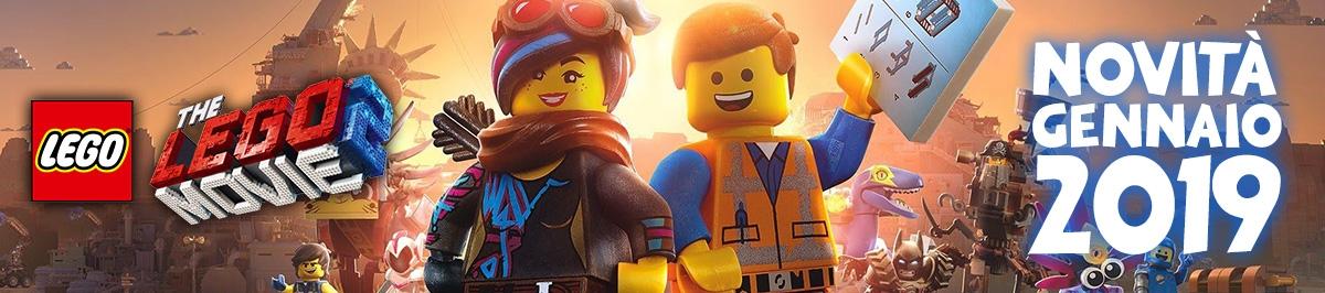 LEGO Movie 2 Novità Gennaio 2019